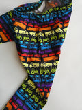 Organic Rainbow Traffic Harem Leggings