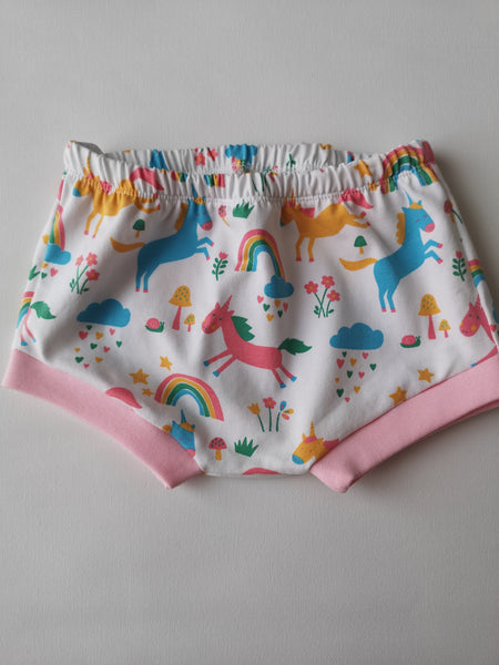 Unicorn Bummie Shorts