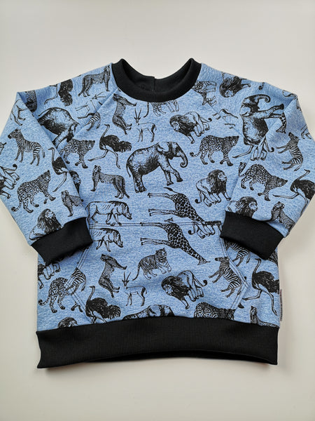 Safari Animal Sweatshirt