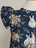 Organic Bunny Flutter Dress