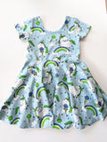 Organic Unicorn Twirly Dress