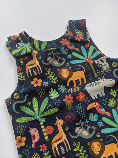 Organic Jungle Romper