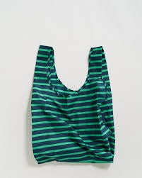 Baggu Reusable Bag - Aloe Sailor Stripe