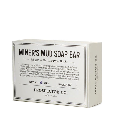 Prospector Co. miners mud soap