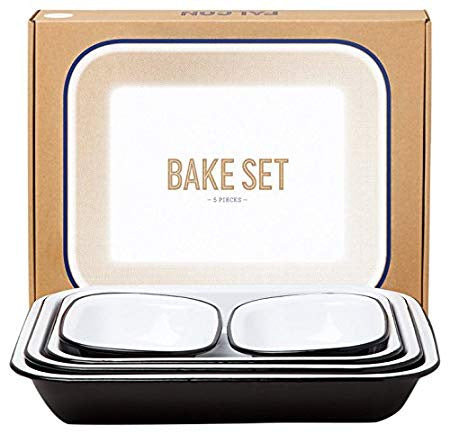 Falcon Bake Set Black