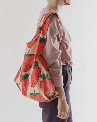 Baggu Reusable Bag - Strawberry