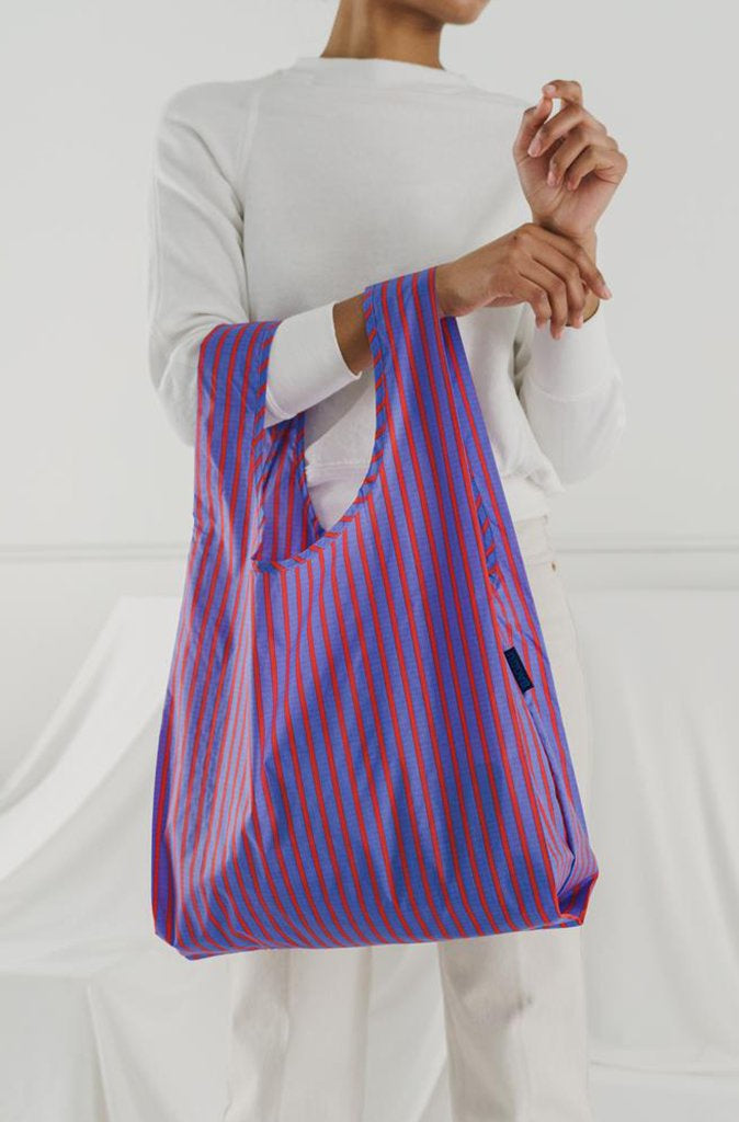 Baggu Reusable Bag - Optic Strip