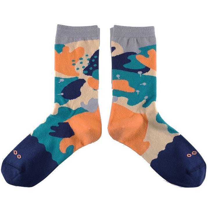 Goodpair Socks Jungle Forest Dark Blue