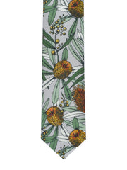 Peggy and Finn Tie - Banksia Grey
