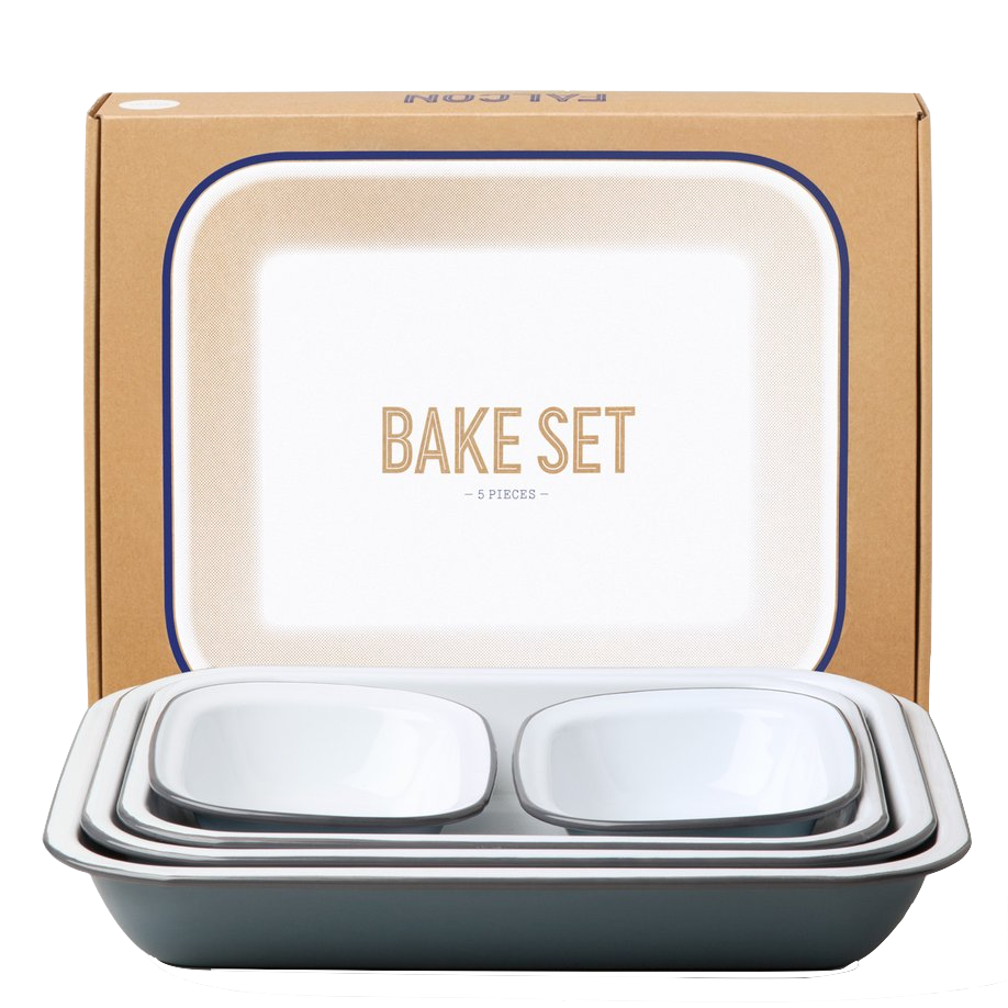 Falcon Bake Set Pigeon Grey
