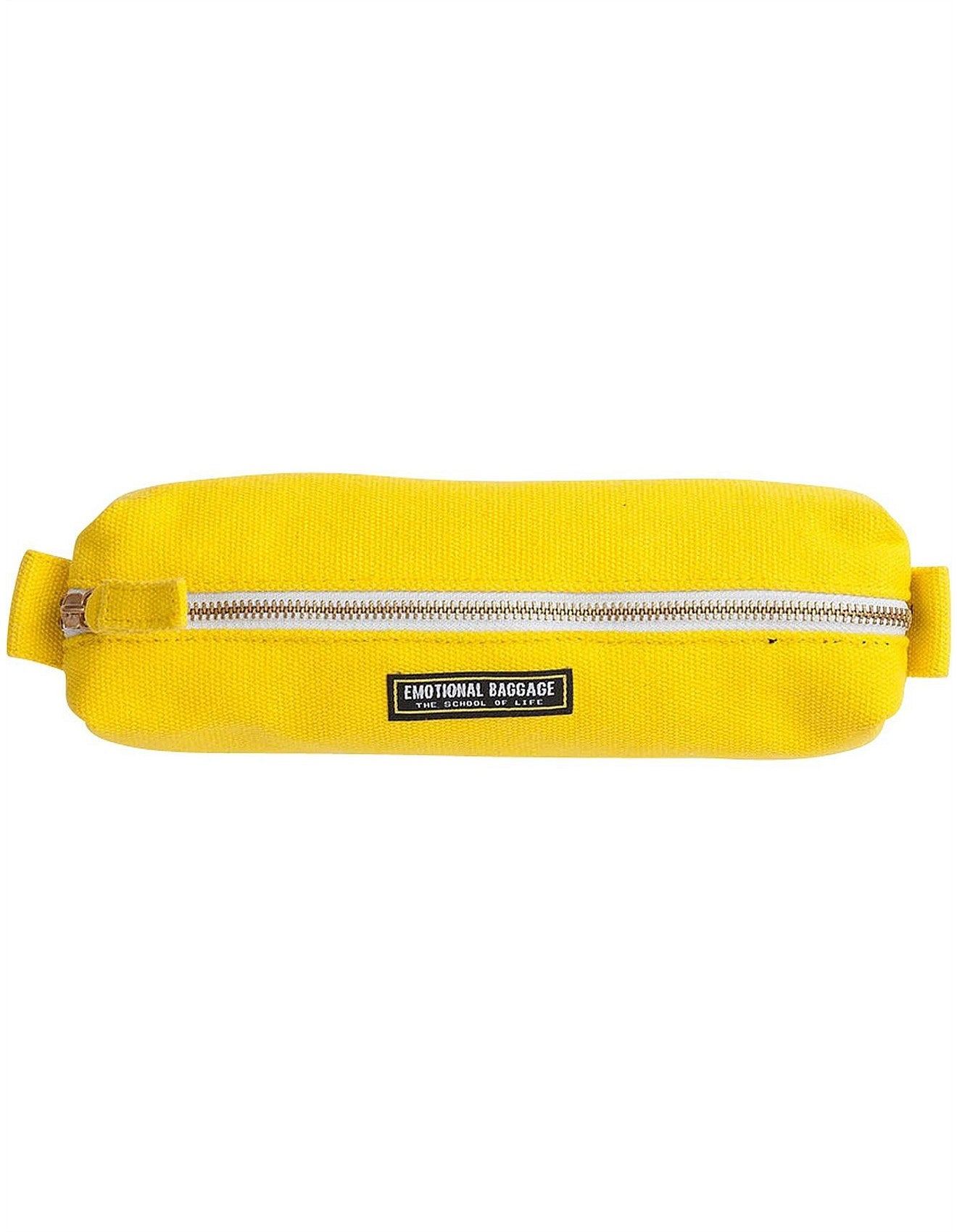 Emotional Baggage Yellow Pencil Case