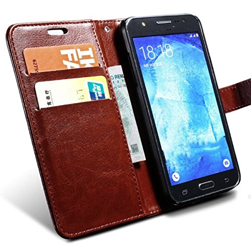 separation shoes f4376 a56d0 Vivo Y53 Flip Cover, SHOPOFY {Imported} Premium Leather Wallet Flip Case  For Vivo Y53 Cover (Royal Series - Brown)