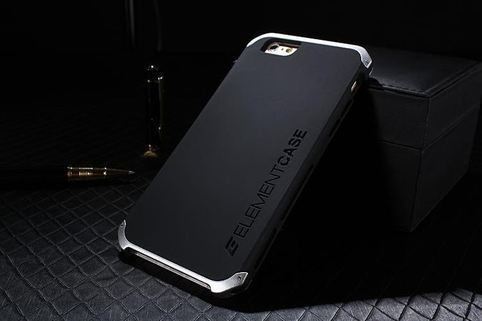 quality design 6675b 7c3d6 Element Case Solace iPhone 8 Cover with Aluminum Crowns Element Case Solace  Shell iPhone 8
