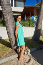 Classic Shift Dress - Aqua
