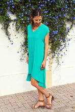 Trapeze Dress - Emerald