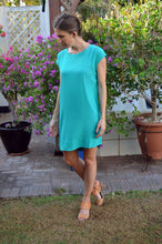Load image into Gallery viewer, Classic Shift Dress - Emerald
