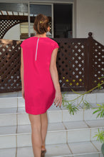 Load image into Gallery viewer, Classic Shift Dress - Hot Pink