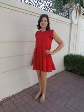 Load image into Gallery viewer, Adelaide Dress - Red Hearts