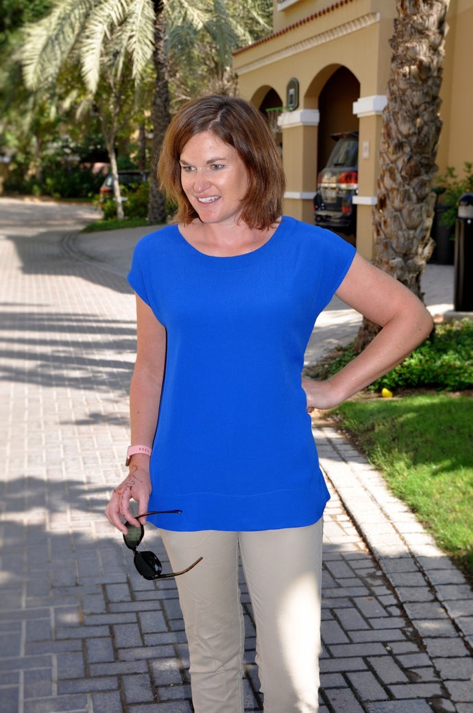 Classic T top - Electric Blue