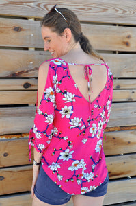 Tie Top  - Pink Orchid