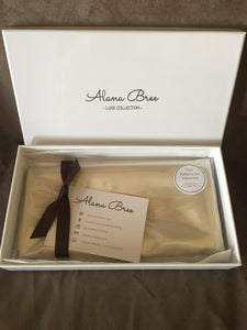 Pure Silk Pillowcase - Pearl White