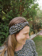 Load image into Gallery viewer, Twist Headband - Funky Floral