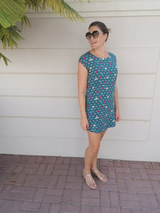 Classic Shift dress - Teal