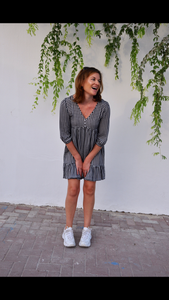 Bailey Dress - Groovy Gingham