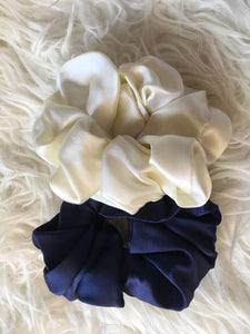 Pure Silk Scrunchie - Various colours
