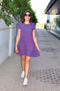 Adelaide Dress - Girly Gingham