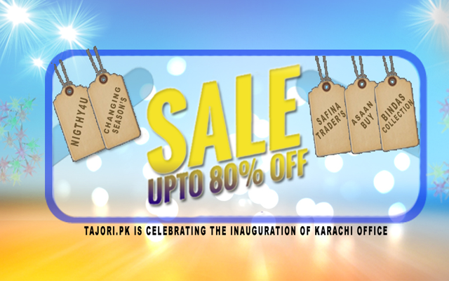 Online Shopping in Karachi Tajori