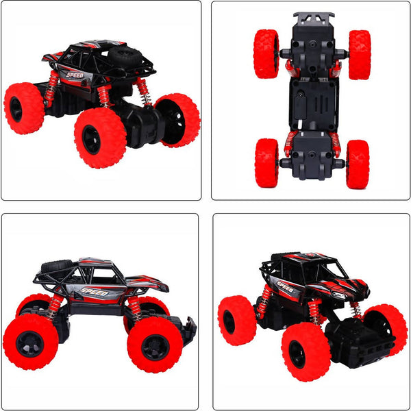 4WD Pull Back Monster Trucks with High Speed Random Color