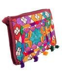 10x6''-Beautiful Hand Embroided Purse Tajori