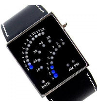 1970s Blue Led Digital Watch Tajori