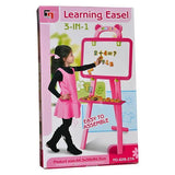 3 in 1 Learning Easel (Pink) Tajori