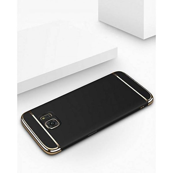 3 In 1 Protective Case for Samsung Galaxy S6 - Black & Gold Tajori