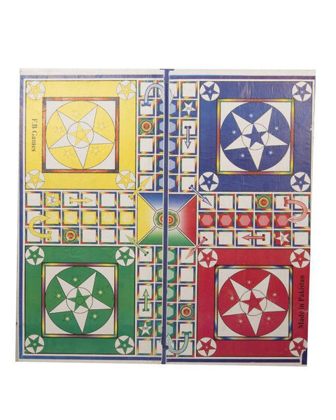 "30x30""-5 in 1 Ludo Board Game Tajori"