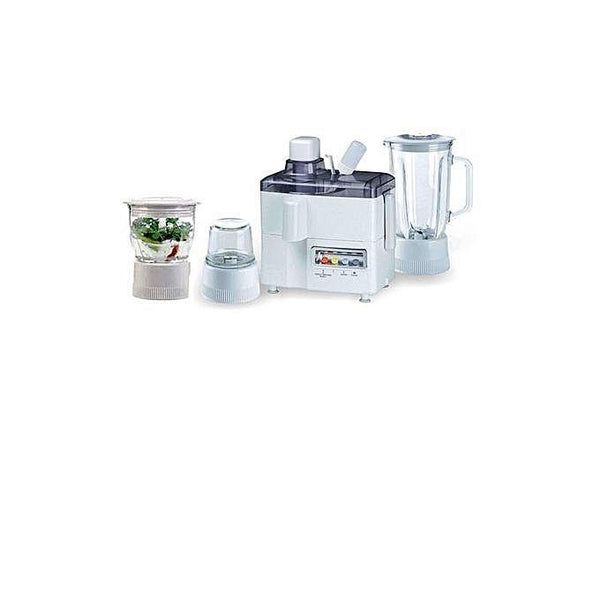 4 in 1 Juicer Blender Grinder & Dry Mill – White Tajori