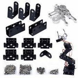 6 Dof Robotic Arm Clamp Claw Kit Tajori