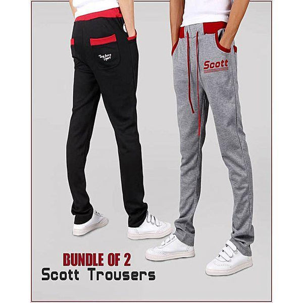 A&F Collections Bundle Of 2 Scott Trousers-A&F-Sct-0001 Tajori