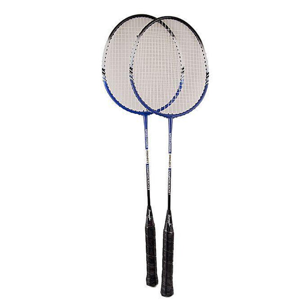 A Quality-Pack of 2 - Pro Badminton Racket Set Tajori