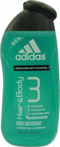 Adidas Ice Effect Hair and Body 3 Shower Gel and Shampoo 250 ML Tajori