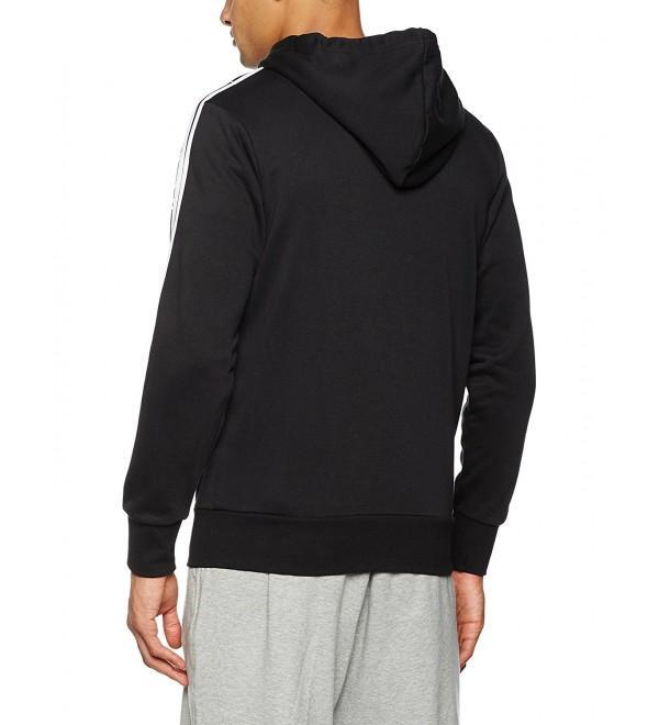 56743cad Adidas Men's Essentials 3 Stripes Full-zip French Terry Hoodie
