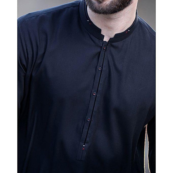 Almirah Black Blended Stitched Waistcoat-Winter Collection Vol.04 for Men Tajori