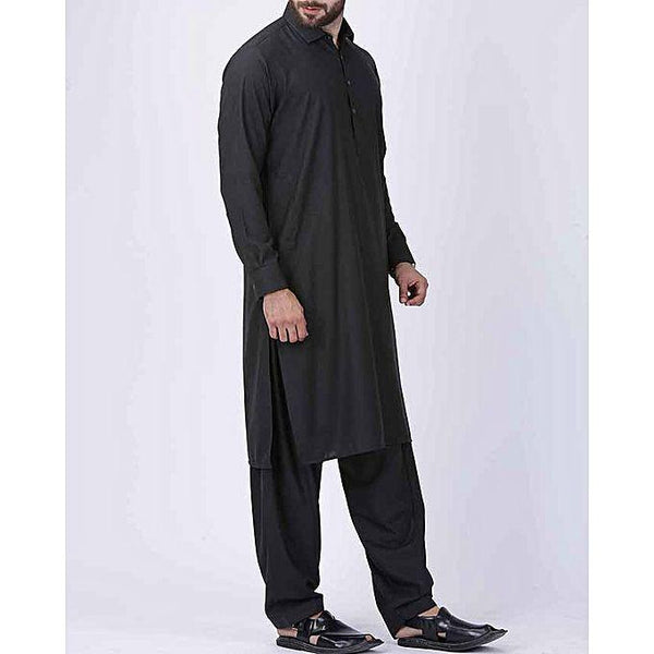 Almirah Charcoal, Blended, Al-Plain Regular/Sc Fit Tajori