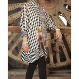 Almirah Charcoal Linen Stitched Kurti-Winter Collection Vol.04 for Women Tajori