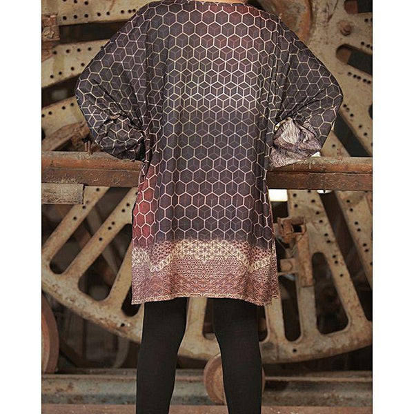 Almirah Red Linen Stitched Kurti-Winter Collection Vol.04 for Women Tajori