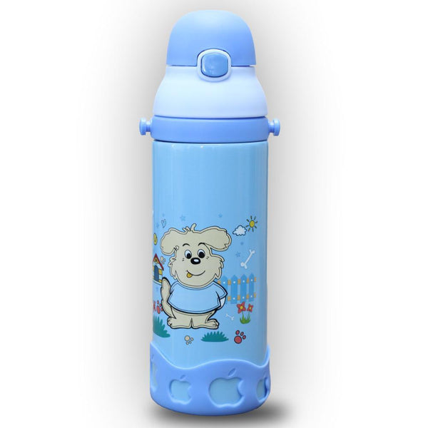 Amazing Vacuum Flasks School Water Bottle for Kids -Blue (0.5 Litre) Tajori