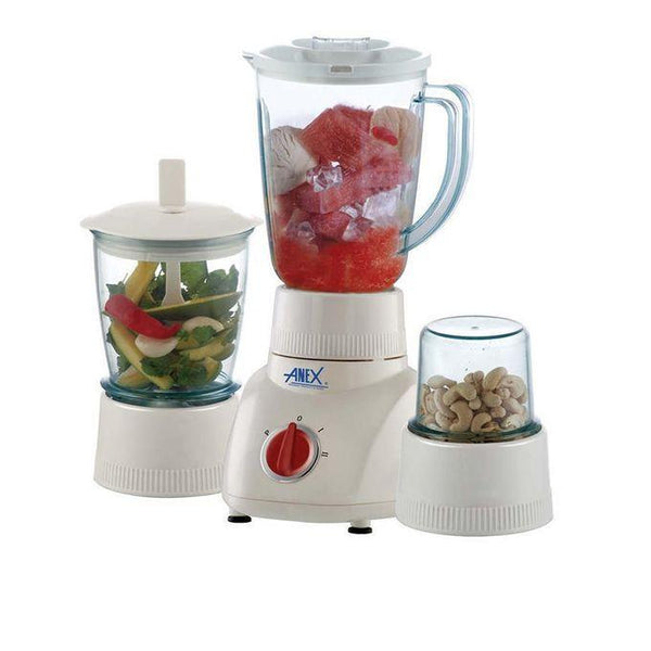 Anex  Blender with 2 Grinders(3 in1) AG -  6026 Tajori