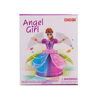 Angel Girl Automatic Obstacle Detection Color Learning Toy Tajori